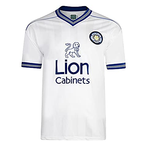 Official Retro Leeds United 1984 Retro Home Shirt 100% POLYESTER