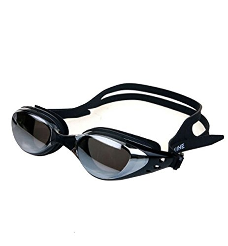 CHIPYHOME schwarze verstellbare Schwimmbrille Unisex Qualität garantiert beschlagfrei hermeticas...