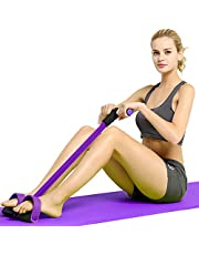EAYIRA Pull Reducer, Waist Reducer Body Shaper Trimmer for Reducing Your Waistline and Burn Off Extra Calories, Arm Exercise, Tummy Fat Burner, Body Building Training, Toning Tube (Multi Color)