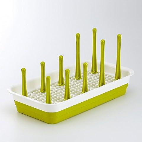 CLG-FLY inox ciotola doppia cremagliera Siu Lek Yuen acqua cucina rack rack in un cestello di lavastoviglie scolapiatti piatto, il ripiano #21 con alta qualità