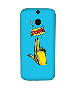 Pow! Back Cover Case for HTC One M8
