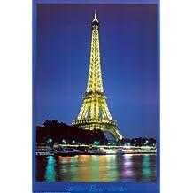 Póster 'Torre Eiffel', Tamaño: 61 x 91 cm