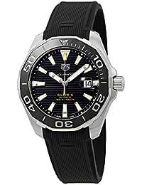 Tag Heuer Aquaracer - Reloj automático para Hombre, Esfera Negra, WAY201A.