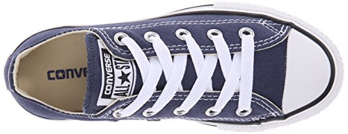 Converse Chuck Taylor All Star Junior Seasonal Ox 15762 Unisex - Kinder Sneaker Blau (Navy Blue)