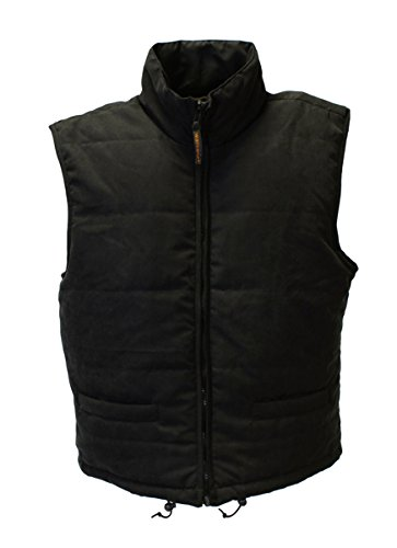 41zYd1jlODL - Warmawear Men's Battery Heated Waistcoat Jacket with Collar (S/M) Black
