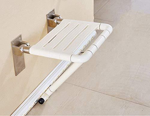 BAIF Haltegriff Badezimmer Sicherheit Klappstuhl, Alter Mann, Behinderten Duschsessel, Klappbare 90-Grad-Ersatz-Schuhbank