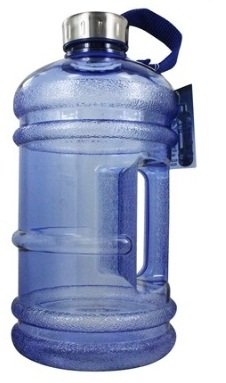 GALLON GYM WATER BOTTLE BLUE 2.2 Litres| BPA FREE| TRANSPARENT LOOK| WIDE...