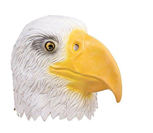 P 'tit payaso 41047máscara adulto látex completo águila, talla única
