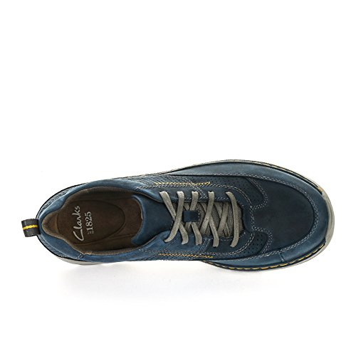 Clarks - Charton Mix, Brogue Uomo Blue