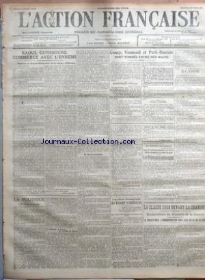 La Neuvieme Legion - ACTION FRANCAISE (L') [No 87] du 28/03/1917