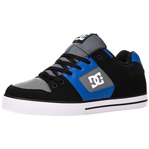 Dc Shoes Pure M Shoe, Color: Black/Blue/Grey, Size: 45.5 EU (11.5 US / 10.5 UK)