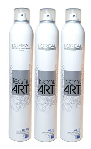 Loreal Fix (Loreal Tecni Art Air Fix Haarspray SET 3 x 400ml)