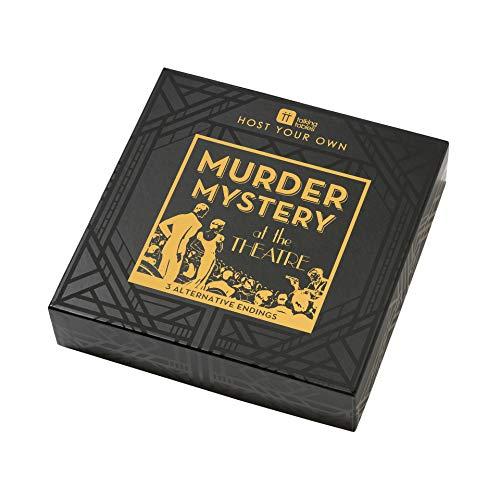 Talking Tables Host Faire Adultes Fêtes de Noël | Jeu Soirée Détective | Murder Mystery Night, Multicolor