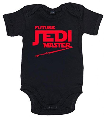 Image Vêtements bébé, Future Jedi Master, Body Bébé garçon, 3-6m, Noir