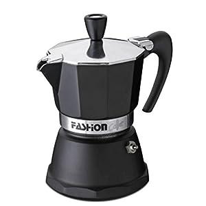 GAT Fashion - Stove Top Espresso Coffee Maker - Certified Food Safe Aluminium with Matt Black Finish - Various Sizes