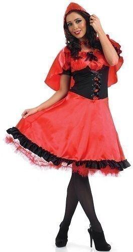 Damen Schulterfreies Bo Peep Rotkäppchen Dorothy Goldlöckchen Kostüm Größe 36-54 Übergröße - 48-50, Rotkäppchen (Bo Peep Kostüm Kostüm)