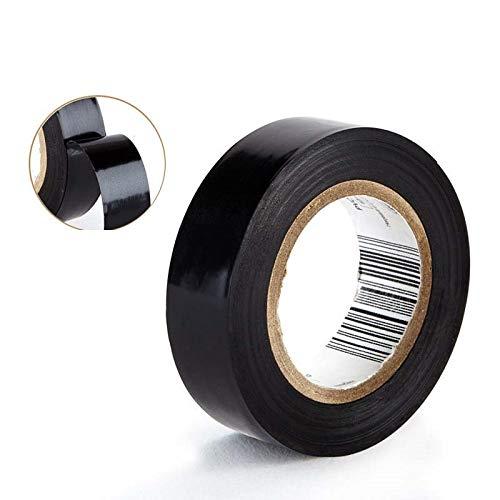 EisEyen PVC Isolierband Klebeband Elektriker Klebeband 10 M*18mm Schwarz