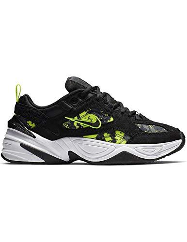 Nike W M2k Tekno, Scarpe da Atletica Leggera Donna, Multicolore (Black/Anthracite/Hyper Pink/White 1), 37.5 EU