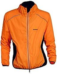 WOLFBIKE Veste Jersey de Cyclisme Hommes Riding respirant Manteau coupe-vent Vêtements de vélo à manches longues