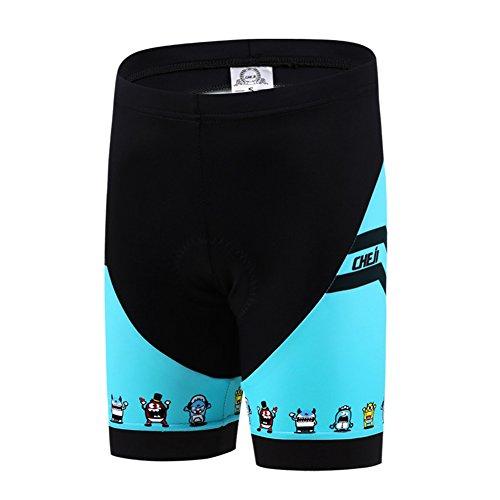 LSERVER Pantalons Courtes Cuissard Shorts de Cysclisme...
