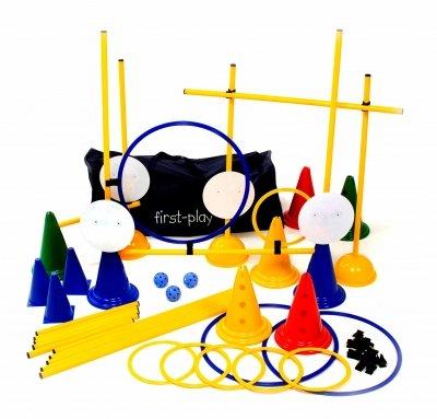 OSG First Play Kinder Fun Outdoor Activity Ausrüstung bunt Hindernis Set - Hindernis-ausrüstung