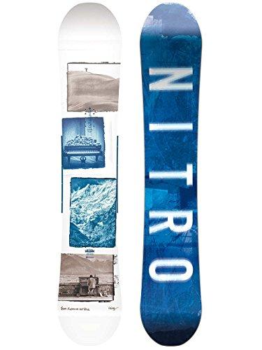 Nitro Snowboards Herren Team Exposure Wide Gul'18 Snowboard, Grafik, 165