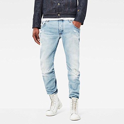 G-Star Arc 3D Slim - Wisk denim - Jeans - Slim - Homme Bleu (Light Aged 5689)
