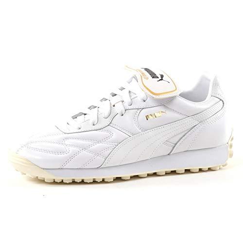Puma Herren King Avanti Sneaker White/Team Gold, Größe 42 -