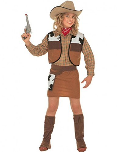 Dguisement westlichen Cowgirl (8/10ans - 140 cm) Disfraz Vaquero