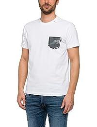 Replay Plain Camouflage Pocket T-Shirt - M3327