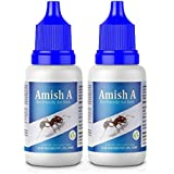 Amish A Eco-Friendly Ant Bait/Ant Repellent for Home/ant Killer Gel/ant Liquid/ant Organic Liquid/ant Gel Bait/Garden, Kitchen, Wall Edges - Pack of 2 Bottle