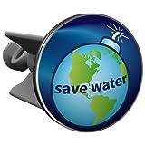 Plopp Waschbeckenstöpsel Save Water, Stöpsel, Excenter Stopfen, für Waschbecken, Waschtisch, Abfluss