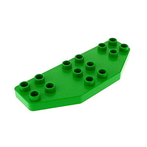 1 x Lego Duplo Tragfläche grün Ruder Flügel Platte 8 x 3 Passagier Flugzeug Jet Airplane für Set 9125 3325 2156