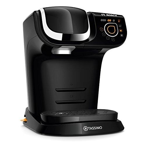 Bosch TAS6002 Tassimo My Way - Cafetera automática de cápsulas, interfaz SensorTouch, 1500 W, color negro