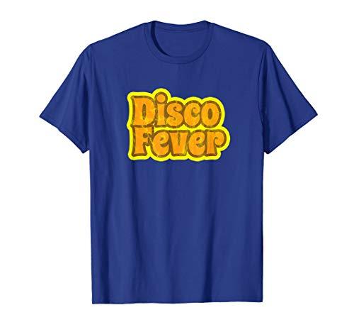 Disco Fever T-Shirt Vintage Disco 1970s Retro Vintage Funk T (Night Fever-shirt Saturday)