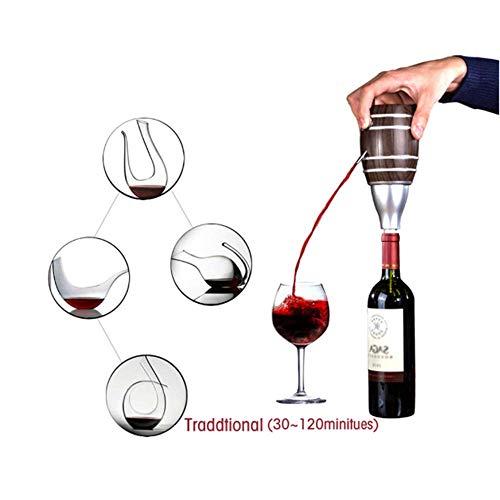 Ausgießer Saft Flasche Wein Dekanter Elektrische Cider Pumpe Belüfter Ausgießer Dekanter Bar Werkzeuge für Familie Bar ()