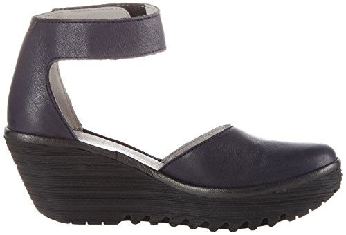 Fly Londra Damen Yand709fly Wedge Blau (navyblack)