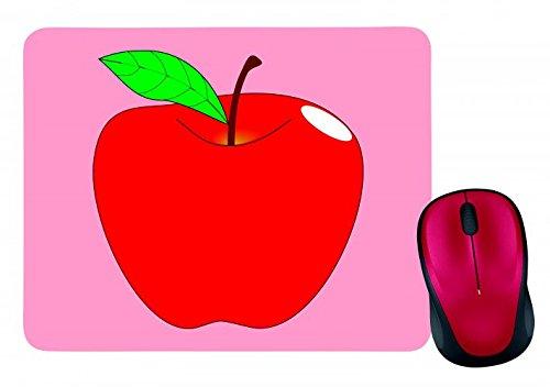 tappetino-per-il-mouse-apple-rosso-di-reif-della-foglia-della-frutta-di-vita-medio-di-sano-dolce-fre