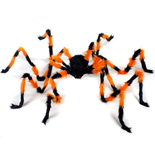 H Themen Kostüm (VENMO Spinne Halloween Party Dekoration Haunted Haus Stütze Indoor Outdoor Wide)