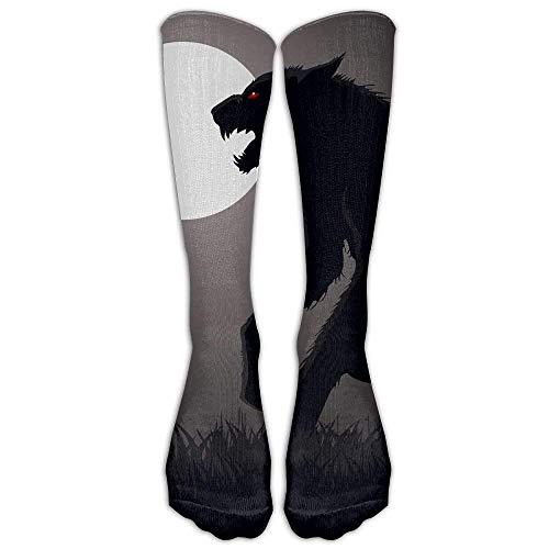 wolf Athletic Tube Stockings Women's Men's Classics Knee High Socks Sport Long Sock One Size ()