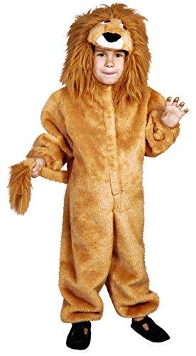 Imagen de disfraz de león para niños de 7 a 9 años