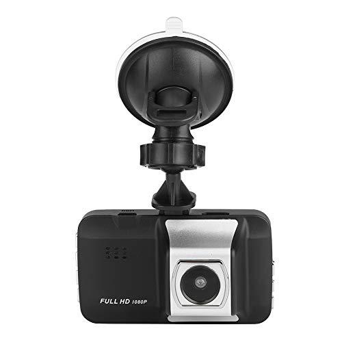 Keenso Auto Unterstützungskamera 4,3 Zoll 1080P HD Rückfahrkamera Spiegel Schlag Nocken 140 Grad Doppelobjektiv der Videorecorder mit G-Sensor/LED/Bewegungserkennung/WDR