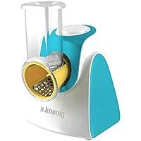 H.Koenig FRSH500 - Rallador eléctrico, color azul