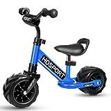 HOSPORT Biciclette Senza Pedali Bilancia da Allenamento per Bambini dai 18 Mesi ai 3,5 Anni (Blu)