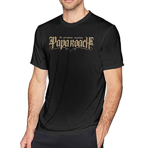 Fomente Papa Roach Rock Band Herren Weich T-Shirt Black 6XL -