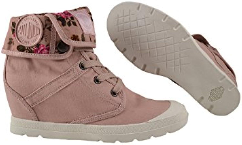 Palladium Pallaroute TW salmon pink/rose print 2018 Letztes Modell  Mode Schuhe Billig Online-Verkauf