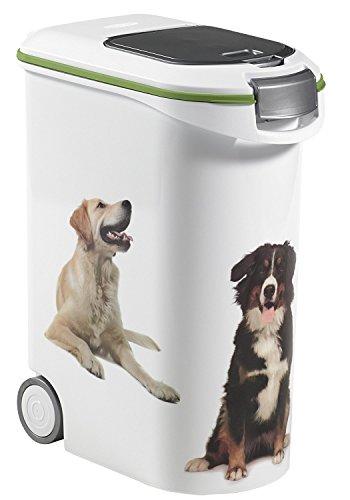 Curver 03906-P70-00 Pet Futter Container 20 kg, 49.3 x 27.8 x 60.5 cm, 54 L