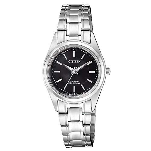 Citizen Damen Analog Solar Uhr mit Edelstahl Armband ES4030-84E