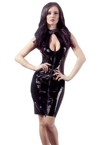 Black Level Lack Kleid Schnürkleid S, 1er Pack (1 x 1 Stück) (Kleider Pvc)