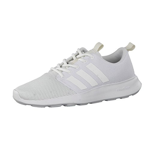 adidas Men's Cloudfoam Swift Racer Trainers White Size: 7 UK